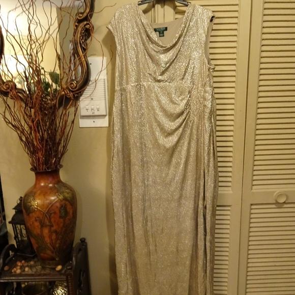 Ralph Lauren Evening Dresses Ralph Lauren Plus Size Evening Gown